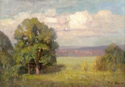 Mellowing Year (the Big Oak) by Theodore Clement Steele