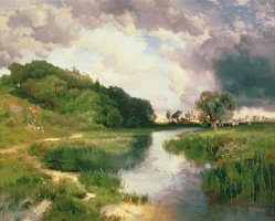 Approaching Storm by Thomas Moran