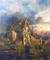 The Haunted House by Thomas Moran