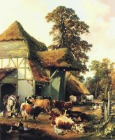 A Farm in Kent by Thomas Sidney Cooper