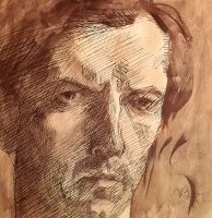Self Portrait by Umberto Boccioni
