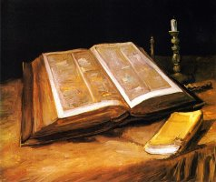 Still Life with Bible by Vincent van Gogh