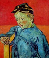 The Schoolboy by Vincent van Gogh