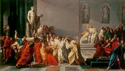 Death of Julius Caesar by Vincenzo Camuccini