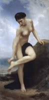 After The Bath (1875) by William Adolphe Bouguereau