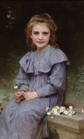 Daisies by William Adolphe Bouguereau