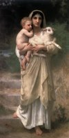 Lambs by William Adolphe Bouguereau