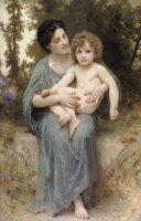 Little Brother by William Adolphe Bouguereau