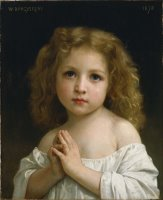 Little Girl by William Adolphe Bouguereau