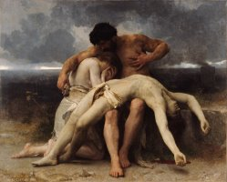 The First Mourning by William Adolphe Bouguereau