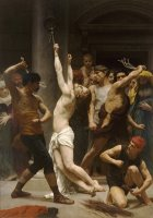 The Flagellation of Our Lord Jesus Christ by William Adolphe Bouguereau