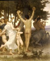 The Youth of Bacchus by William Adolphe Bouguereau