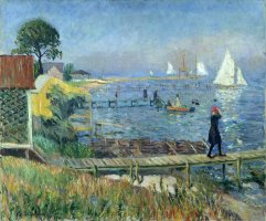 Bathers at Bellport by William James Glackens