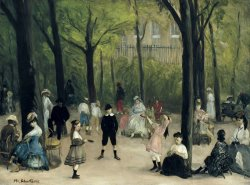 Luxembourg Gardens by William James Glackens