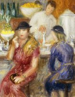 Study For The Soda Fountain by William James Glackens