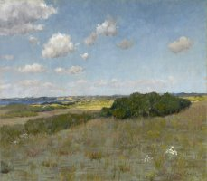 Sunlight And Shadow, Shinnecock Hills, C. 1895 by William Merritt Chase
