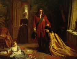 Incident in The Life of Lady Mary Wortley Montague by William Powell Frith