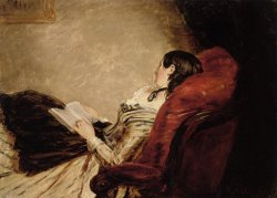 Isabelle Frith Reclining by William Powell Frith