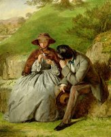 Lovers by William Powell Frith