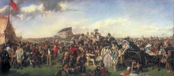 The Derby Day by William Powell Frith