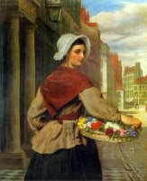 The Flower Seller by William Powell Frith