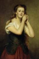 The New Earrings by William Powell Frith