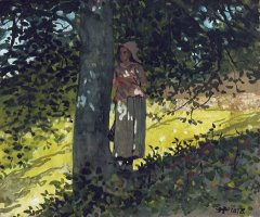 A Shady Spot by Winslow Homer
