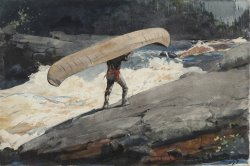 The Portage by Winslow Homer