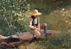 The Whittling Boy by Winslow Homer