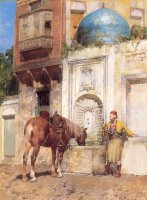 At The Well by Alberto Pasini
