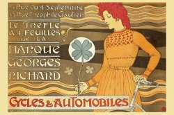 Cycles And Automobile by Marque George Richard by Alphonse Marie Mucha
