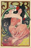 Job II by Alphonse Marie Mucha