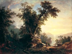 The Indian's Vespers by Asher Brown Durand