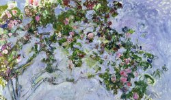 The Roses by Claude Monet