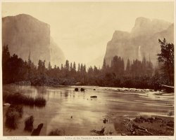 Valley of The Yosemite, From Rocky Ford by Eadweard J. Muybridge