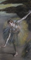 Dancer in Green by Edgar Degas