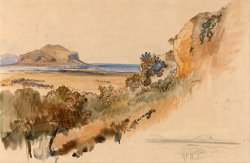 View Near Palermo by Edward Lear