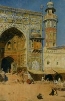 Jumma Musjed Lahore India by Edwin Lord Weeks