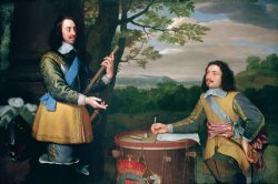 Portrait of Charles I and Sir Edward Walker by English School