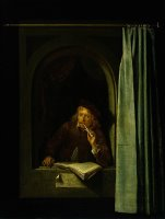 Self Portrait by Gerrit Dou