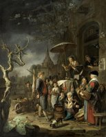The Quack by Gerrit Dou