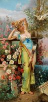 The Messenger of Love by Hans Zatzka