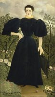 Portrait of Madame M; by Henri Rousseau