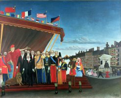 Representatives of the Forces greeting the Republic as a Sign of Peace by Henri Rousseau