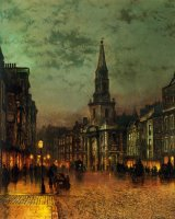 Blackman Street, London by John Atkinson Grimshaw