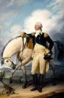 Washington at Verplank's Point by John Trumbull