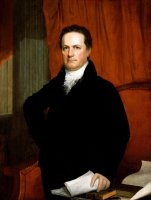 Portrait of Dewitt Clinton (ca. 1816) by John Wesley Jarvis