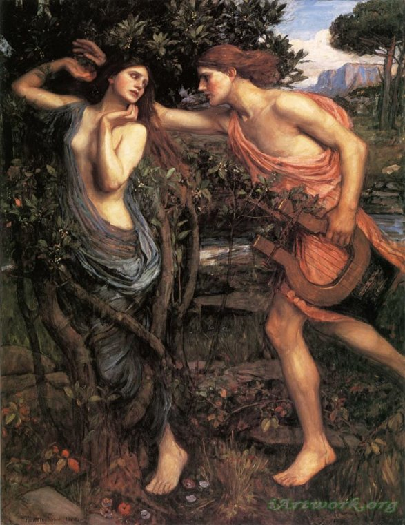 apollo and daphne painting essay The tale of daphne and apollo, like so many stories in the metamorphoses, is classified as an aetiological myth that is, a narrative that explains an origin but, as the excerpt above testifies.