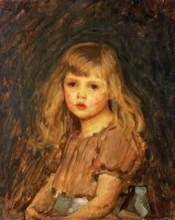 Portrait of a Girl by John William Waterhouse