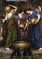 The Danaïdes by John William Waterhouse